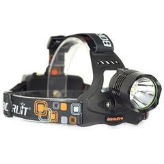 災害対策1800LM☆RJ-2158 CREE LEDヘッドライト 4000mAh充電池付
