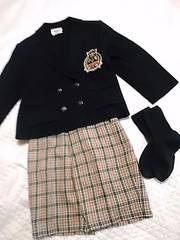 ワールド ジャケット&アカチャン本舗ズボン 120サイズ