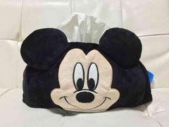 新品*ミッキー*BOXティッシュケース*Disneyディズニー