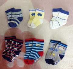 新生児3点9~14cm3点靴下まとめ売り