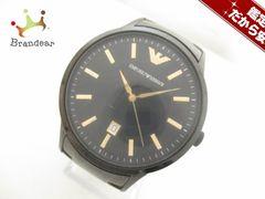 EMPORIOARMANI(アルマーニ) 腕時計 AR-2451 メンズ 黒