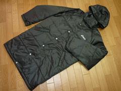アシックス 状態良好 メンズL ベンチコート ジャケット 黒