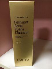 TONYMOLY  Ferment       Snail Foam Cleanser