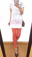 【上下セット】メイソングレイ◆シャツワンピ+パンツ◆総額1万8260円◆2点セット