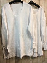 新品☆メンズ7L大きいサイズ暖かキルトアンダーシャツ2枚!j981