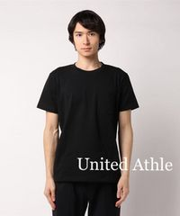 United Athleユナイテッド【新品】ポケット付きTシャツ Black
