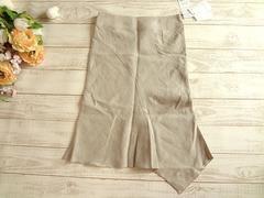 新品 manics マニックス 麻 リネン スカート 1 定価¥16800