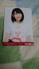 NGT48北原里英卒業コンサート 佐藤海里特典写真