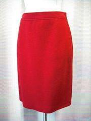 【エスカーダ】【ハンガリー製】赤のニットスカートです