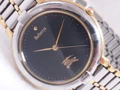 5761/バーバリー定価5万円位高級コンビ仕様モデルです★メンズ腕時計