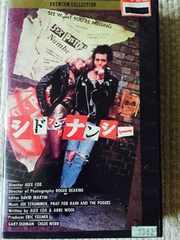 再出品!!  シド アンド ナンシー  SID & NANCY  VHSビデオ