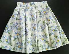 お花柄 爽やかスカート Mサイズ