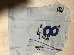 HUSHUSH長袖Tシャツ110ブルー美品