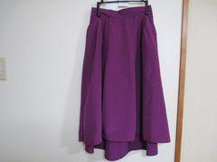 ヴィズ/VIS スカート(赤紫) 1〜2回着用 定価4212円