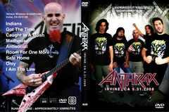 ANTHRAX IRVINE, CA 2008 アンスラックス