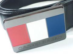 5899/CASTELBAJACカステルバジャック一流ブランド状態良好メンズベルト