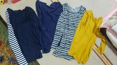 ロングロングTシャツ4枚(4枚)