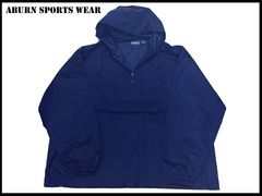 新 【紺色-2XL】 Auburn スポーツウィンドブレーカビッグサイズ