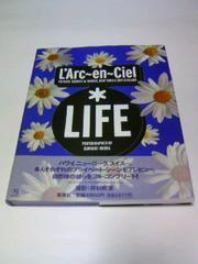 ■帯付初版本LIFE/L'Arc-en-Ciel■V系ライフラルクアンシエル写真集ハイドhyde