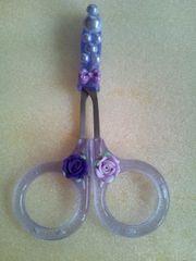 モバオク:美容 美容用ハサミ◆紫◆