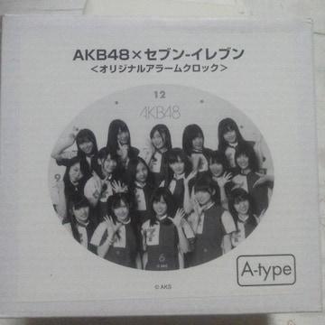 AKB48×セブンイレブン オリジナルアラームクロック A-type 渡辺麻友 目覚まし時計