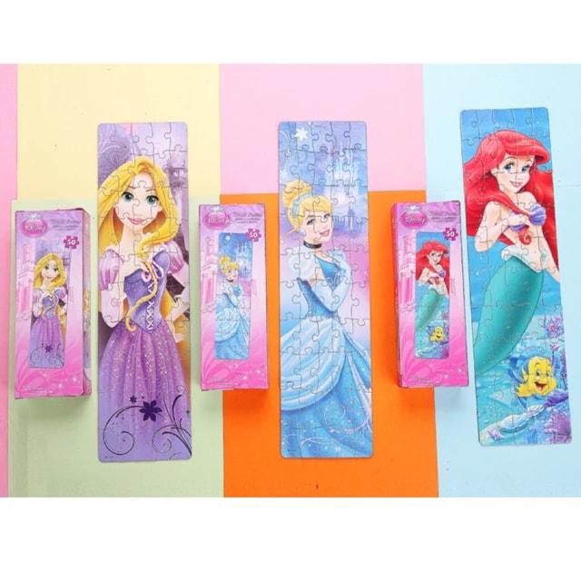 新品 日本未発売 ディズニー プリンセス 知育玩具 パズル  < おもちゃの