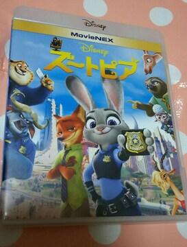 美品 ズートピア MovieNEX 全セット ◎ ディズニー  DVD ブルーレイ マジックコード