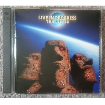 KF  THE ALFEE  アルフィ Live In Progress 2CD