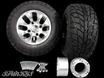 ジャイロ用 ツートンホイール バギータイヤ&スペーサー70mm