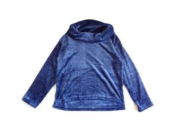 新品 MEO ふわもこ チュニック ニット セーター ネイビー
