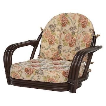 回転座椅子(ダークブラウン) RZ-931DBR