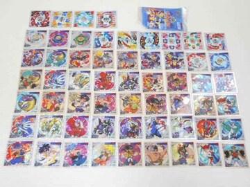 爆転シュート ベイブレード★全58種類セット シール烈伝
