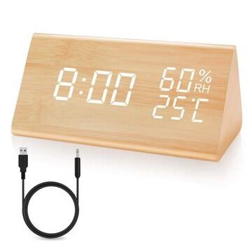 置き時計 LED時計 目覚まし時計 アラームクロック