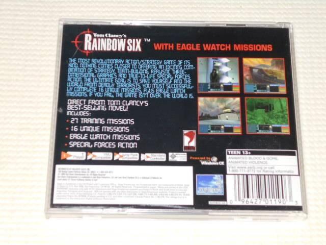 DC★TOM CLANCY'S RAINBOW SIX 海外版 < ゲーム本体/ソフトの