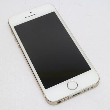 ●安心保証●新品同様●DoCoMo iPhone5s 16GB ゴールド●白ロム