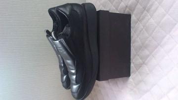 訳あり激安78%オフGucci、グッチ、革靴(美品、黒、26)