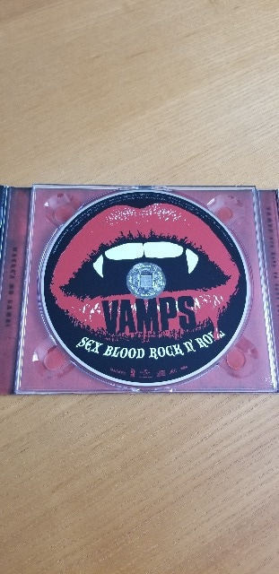 VAMPS/SEX BLOOD ROCK N ROLL 限定盤 < タレントグッズの
