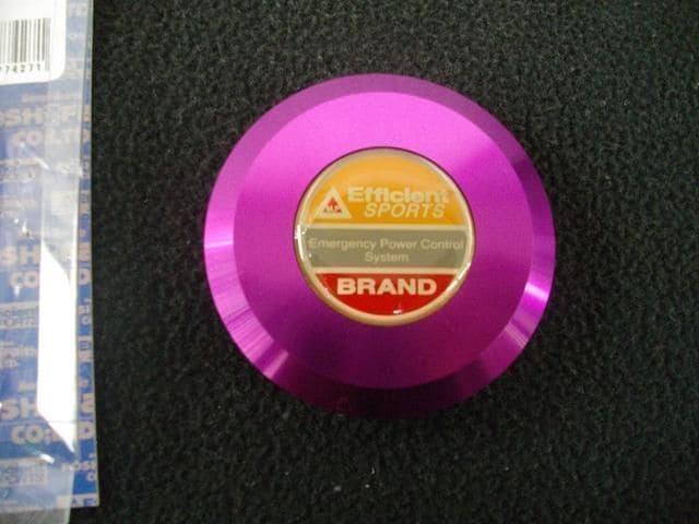 (93)CBR400FCBX550FCB400NCB250Tホーク 別体 マスター シリンダー キャップ 紫 < 自動車/バイク