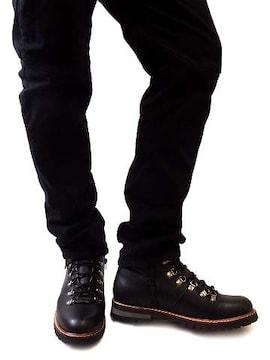 サイドジップマウンテンブーツM-ブラック黒black新品※2点送料無料