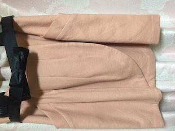 AR チューリップ スカート サーモンピンク