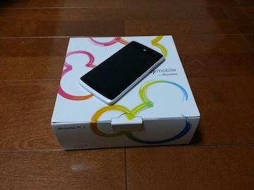 即落/即発!!美中古品 N-03E Disney Mobile ホワイト
