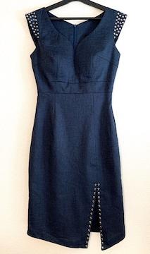 【dazzy】デニム風ドレス