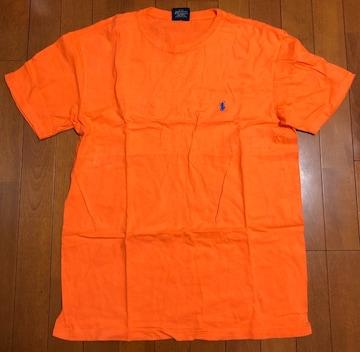 Ralph Laurenラルフローレン☆オレンジワンポイントTシャツ