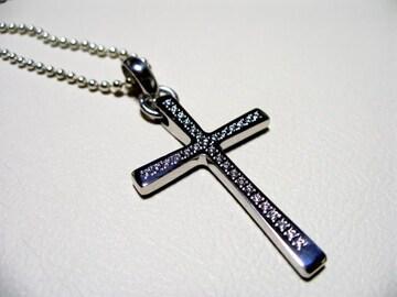 仁尾彫金『プラチナ31ピースダイヤクロス』十字架
