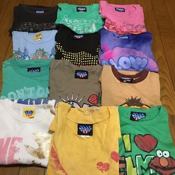 在庫整理 JUNKFOOD レディース ジャンクフードTシャツ 12枚