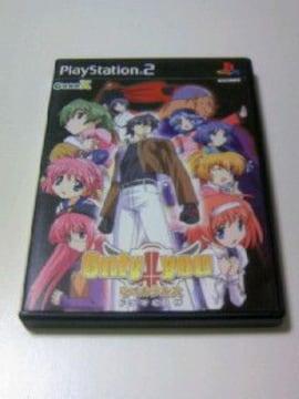 即決 2枚組 PS2 ONLY YOU リベルクルス (ドラマCD 付き)/ゲームソフト オンリーユー