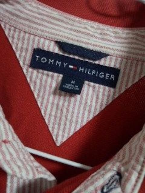 トミー 赤ポロシャツ < ブランドの