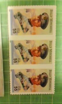 アメリカ55c切手帳(人物ビリーマイケル$2.75)♪