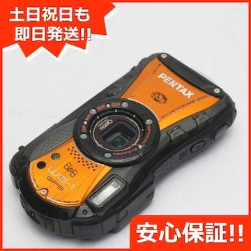 ●安心保証●良品中古●Optio WG-1 GPS シャイニーオレンジ●