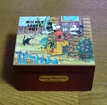 ディズニーオルゴール ミッキーマウス ミニーマウス